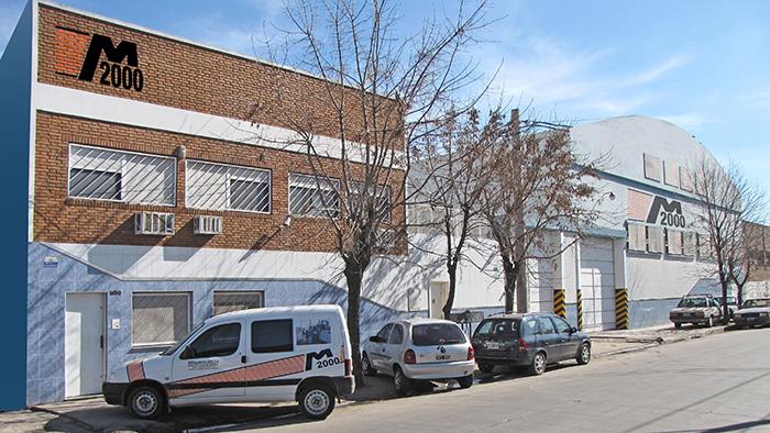Frente de planta Metalúrgica 2000